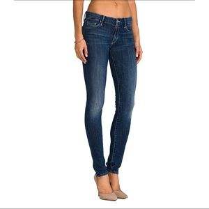 Mother Jeans The Looker Denim Skinny Distress 31